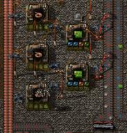 Factorio assemblers