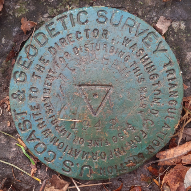 Triangulation Survey Marker