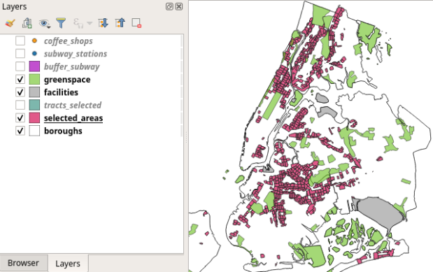 QGIS 3.10 Screenshot