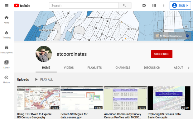 atcoordinates YouTube Channel