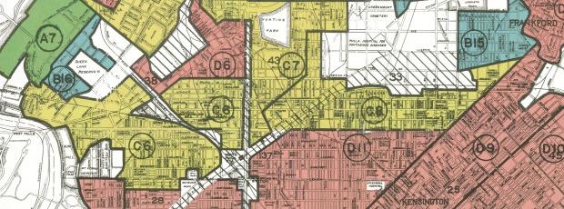 Philadelphia Redlining Map